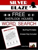 Silver Blaze--FREE Word Search for the Sherlock Holmes Sho