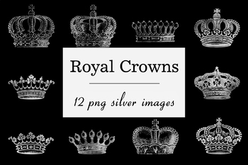 Silver Crown Clipart Royal Crowns Images Silver King Crown Queen