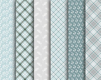 Silver Lining Paper Set #104