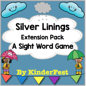 Silver Linings - A Sight Word Game - Extension Pack