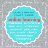 Silver Linings Award Badge - online learning