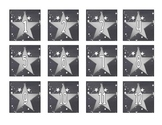 Silver Star Theme Calendar Set