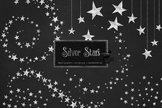 Silver Stars Clipart
