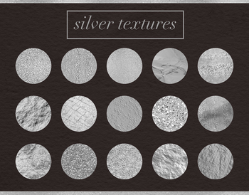 Silver Textures, Beautiful Silver Backgrounds