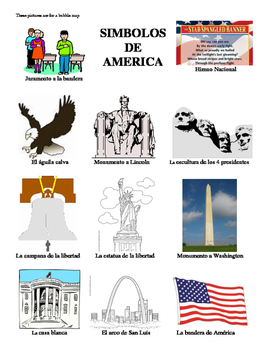 Simbolos de America: Tres Actividades