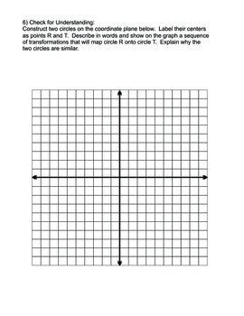 Similar Circles CCSS HS Math G-C.1