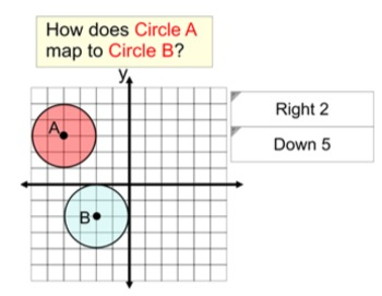Similar Circles and Mapping, Instruction + 2 Assignments for Power Point
