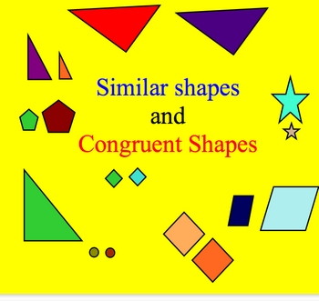 Similar Congruent Shapes Ma... by Smartboard Smarty | Teachers Pay ...