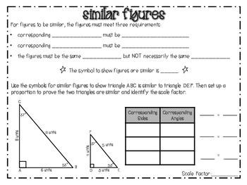 Similar Figure Notes