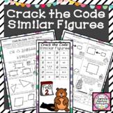 Similar Figures Activity Crack the Code