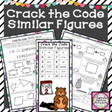 Similar Figures Activity Crack the Code