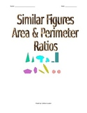 Similar Figures - Area & Perimeter Ratios