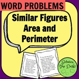 Similar Figures - Area and Perimeter Word Problems