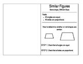 Similar Figures Booklet