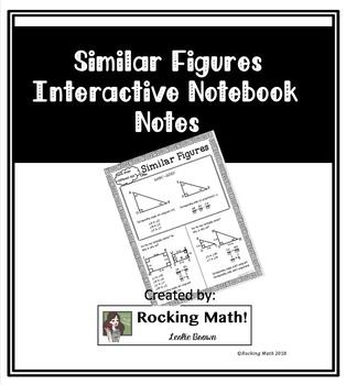 Similar Figures Interactive Notebook Notes