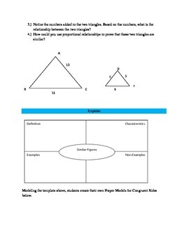 Similar Figures Lesson
