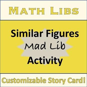 Similar Figures Mad Lib Activity Stations