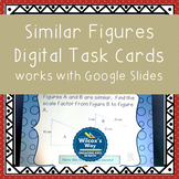Similar Figures Missing Side Lengths Digital Task Card Activity (Google Slides)