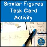Similar Figures Missing Side Lengths Task Card Activity