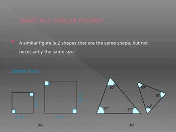 Similar Figures Powerpoint Presentation
