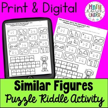 Similar Figures & Proportions - Puzzle Activity