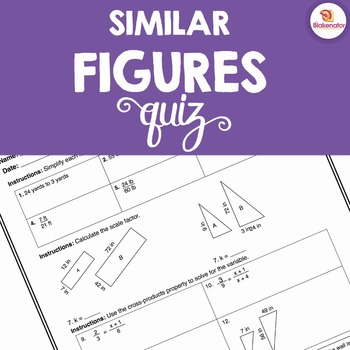 Similar Figures Quiz