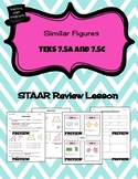 Similar Figures - STAAR REVIEW LESSON - TEKS 7.5A and 7.5C