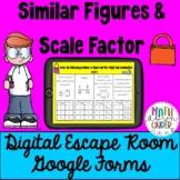 Similar Figures & Scale Factor Digital Escape Room for Google Forms