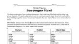 Similar Figures Scavenger Hunt - Measurements, Proportions
