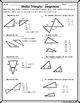 Similar Figures - Similar Triangle Methods Notes and Homework