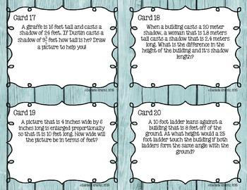 Similar Figures Task Cards