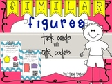 Similar Figures Task Cards With QR Codes