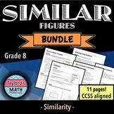 Similar Figures Worksheet Bundle