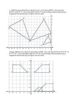 Similar Figures Worksheet Bundle
