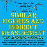 Similar Figures / Indirect Measurement: Using Similar Tria