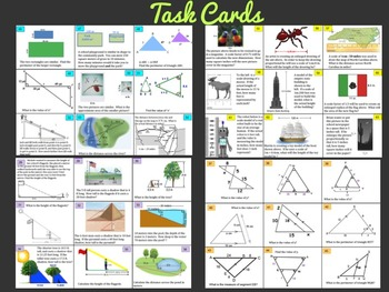 Similar Figures and Scale Drawings Bundle ~ Middle School Math