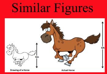 Similar Figures and Scale D... by Math Maker | Teachers Pay Teachers
