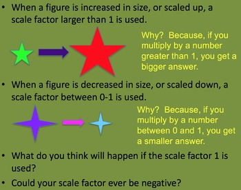 Similar Figures and Scale Drawings... Using a Scale Factor
