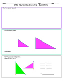 Similar Figures and Scale Drawings... Worksheet to go with PPT