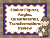 Similar Figures and Transformations Review