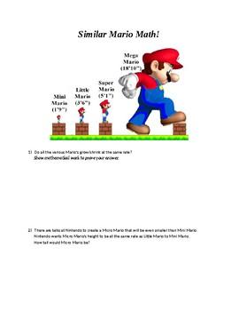 Similar Mario Math!