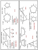 Similar Polygon Foldable