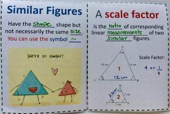 Similar Polygons Foldable
