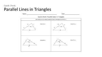 Similar Polygons -  Interactive Notebook Activities