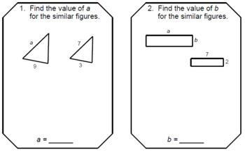 Similar Polygons - RELAY RACE Game