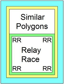 Similar Polygons - RELAY RACE Game