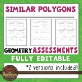 Similar Polygons Tests - Geometry Editable Assessments