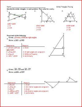 Similar Polygons (WS)
