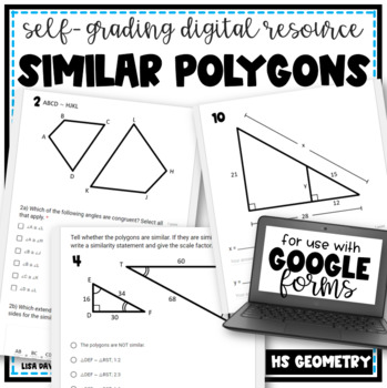 Similar Polygons- digital resource for use with Google