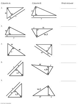 pictures triangle similarity worksheet roostanama. Black Bedroom Furniture Sets. Home Design Ideas